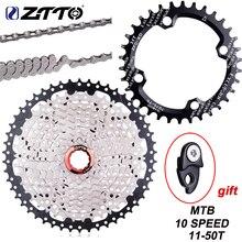ZTTO 10 Velocità 11 50T Mountain Bike Cassetta 10s 20s 30s Ruota Libera Ciclismo K7 pignone per le Parti XT SLX XO X0 X9 X7 Parti di Biciclette