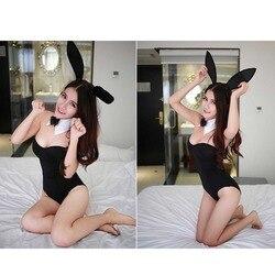 EXVOID ролевые игры Bady Кукольное платье Сексуальное белье кролик девушка Леди Секс игрушки для женщин Униформа эротическое искушение женские ... 2