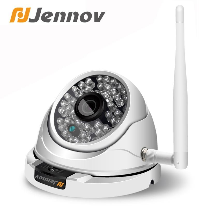 Jennov Wifi Outdoor IP Camera 1080P 720P ONVIF Home Security Wireless Video Surveillance Dome Camera CCTV Ceiling Weatherproof