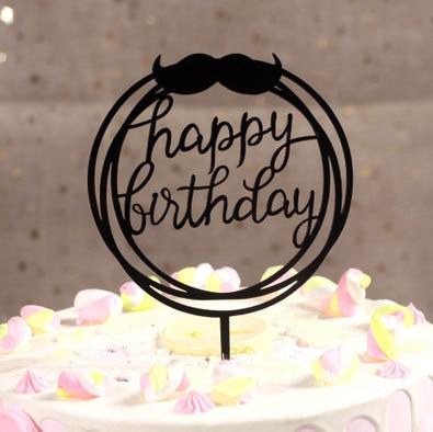 Super Happy Birthday Cake Topper Acrylic Letter Cake Toppers Party Funny Birthday Cards Online Alyptdamsfinfo