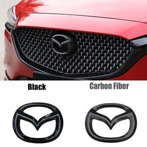 Image 1 - 1pc abs frente tronco adesivo para mazda axela atenza cx4 cx5 CX 5 traseira da cauda emblema substituição emblema novo exterior decoração automóvel