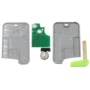 Image 3 - 5PCS/LOT,2 Button Smart Card Remote Key Fob 433MHz PCF7926 ID46 Chip For Renault Laguna Espace Vel Satis 2001 2007