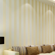 цена на TV sofa background wallpaper vertical stripeModern minimalist non-woven horizontal stripes wallpaper office living room bedroom