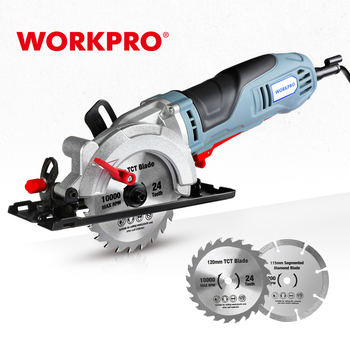 WORKPRO Electric Mini Circular Saw Power Tools 750W Multifunctional Electric Saw With TCT Blade and Diamond Blade Sawing Machine 1