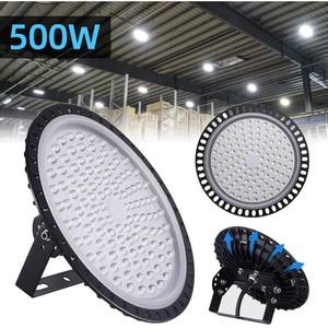 Ultraslim 50/100/200/300/500W UFO LED High Bay Lights Waterproof IP65 Commercial Industrial Lighting Warehouse Led High Bay Lamp