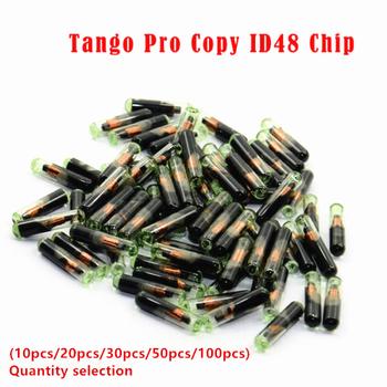 50 sztuk X nowy dziewiczy puste szkło Chip transpondera T6 ID48 nowy dziewiczy Transponder ID48 Chip transpondera-Tango Pro kopia ID48 Chip tanie i dobre opinie Keyecu CN (pochodzenie) Car Key Glass Transponder ID48 T6 Crypto Unlocked Chip China ID48 ID 48 Chip