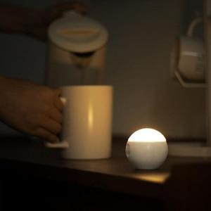 Image 4 - Sothingサニースマートセンサー夜の光の壁ランプ120度赤外線誘導usb充電リムーバブル夜ランプ