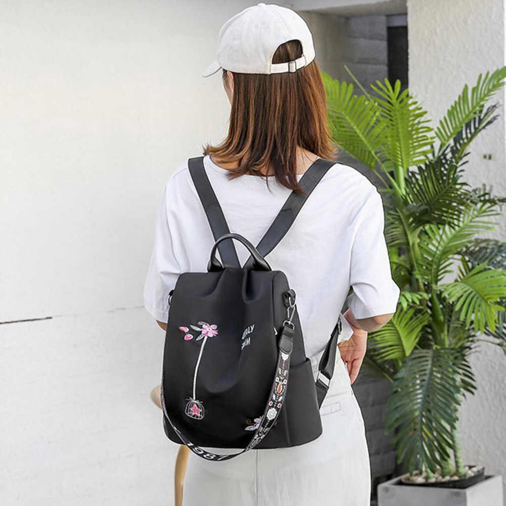 2019 Women Travel Backpack Oxford Cloth Shoulder Back To School Bags Hot