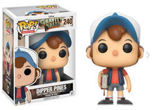 Funko Pop America Gravity Falls Dipper Pines Vinyl Action Figures 240 Collection Model Toys 10cm with box