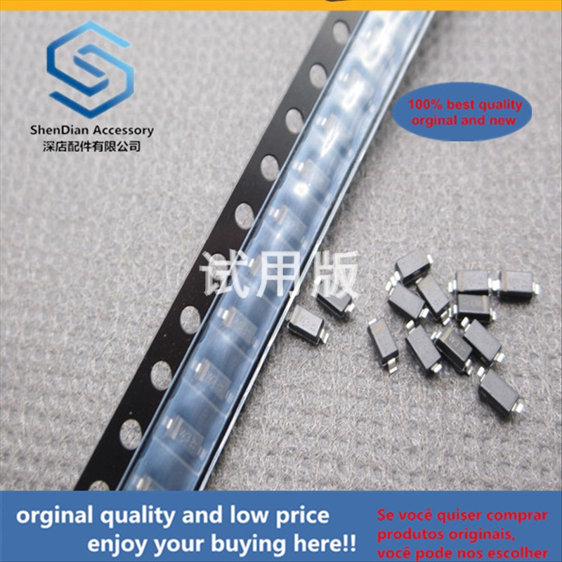 50pcs 100% Orginal New Best Quality SMD Zener Diode LBZT52C3V3 3.3V W3 Silk Screen SOD123 Package 1206 Volume