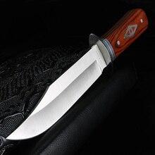 XUAN FENGกลางแจ้งมีดCampingความแข็งสูงสนับสนุนยุทธวิธีมีดมีดทำด้วยมือมีดล่าสัตว์มีดตรง