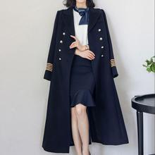 Двубортное шерстяное пальто женское зимнее утепленное женское Шерстяное теплое облегающее теплое шерстяное пальто