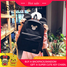 2019 Disney Mickey Backpack Cute Mouse Women Bag Girl Handbag Fashion School Backpacks Boy Travel Birthday Gifts
