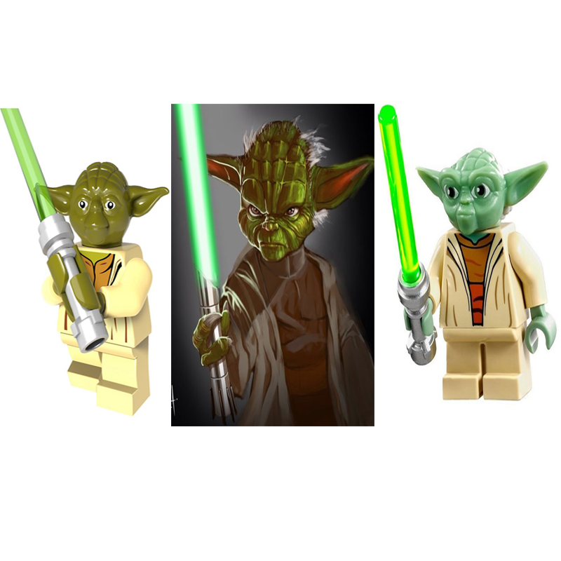 Legoinglys Star Wars  Baby Yoda  Finn Lando Palpatine Dark Rey Darth Vader Empire Mechanic Robot Building Block  Bricks Toys