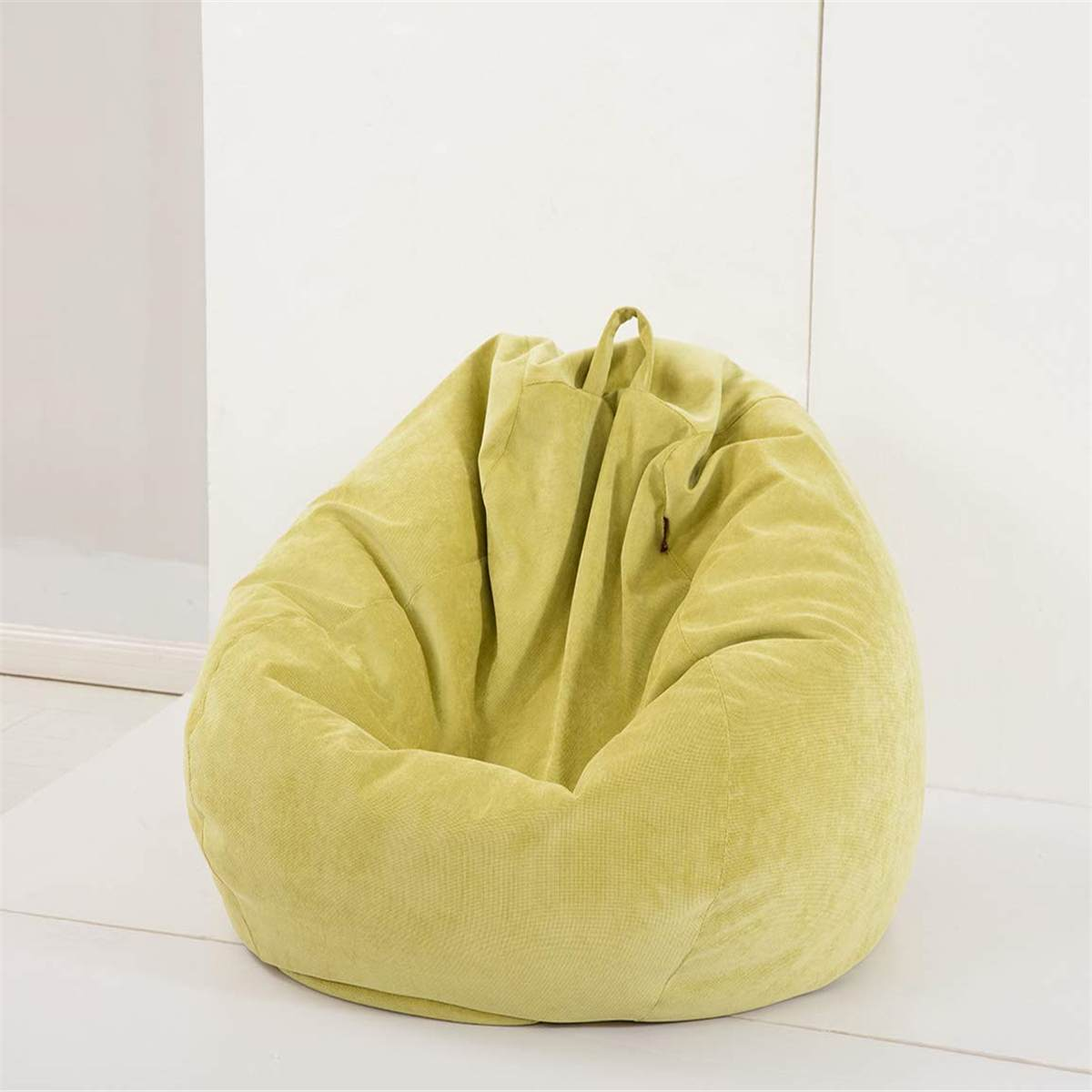 Cover Seat-Bean-Bag Lounger Inner-Liner Pouf-Puff Lazy-Sofas Living-Room Couch Tatami title=