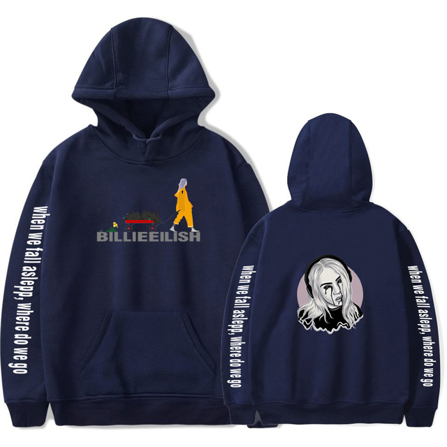 BILLIE EILISH THEMED HOODIE (27 VARIAN)