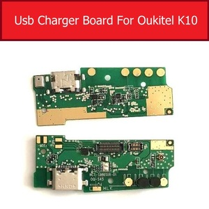 Image 3 - Usb Charging & Microphone Jack Port Board For Oukitel K7 K10 Usb Charger Connector Module USB Charger Board Replacement Repair