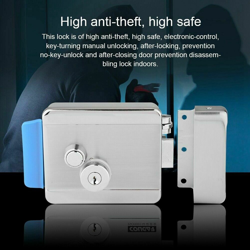 Q799 Security Electric Lock Electric Control Door Lock For Door Access Control System Kit