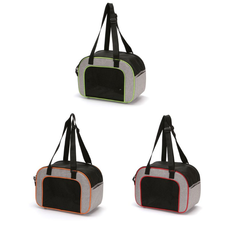 NoEnName_Null Pet Puppy Dog Carrier Nylon Shoulder Bag Cat Handbag Travel Tote Mesh Carry Pack