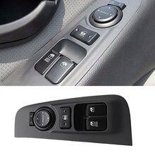 אמיתי קדמי שמאל דלת זכוכית מרים בקרת מתג כפתור LH RH עבור יונדאי i800 H1 iMax 2007 2015 935704H000 935804H000
