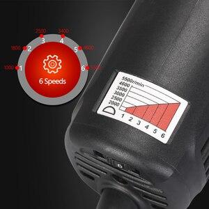 Image 5 - Spta 3 polegada mini polidor de carro 780w/10mm dupla ação polisher da polidor de carro polidor automático máquina com esponja polimento almofadas conjunto