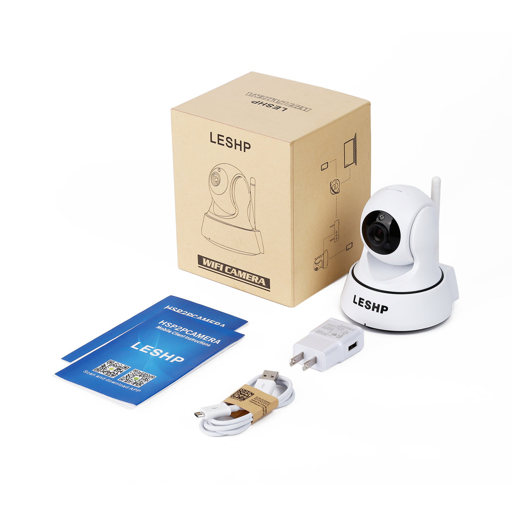 5W IP Camera 720P HD Wifi Camera Network Surveillance Camera With Night Version Indoor USB Charger P2P Home CCTV Camera