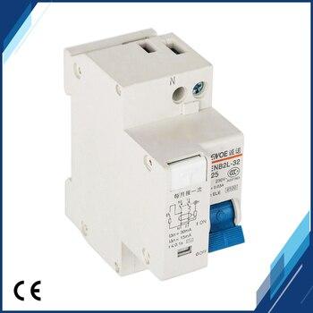 free shipping superior elcb earth leakage circuit breaker mini circuit breaker DPNL 1P+N16A 20A 25A 32A 230V~ 50HZ/60HZ