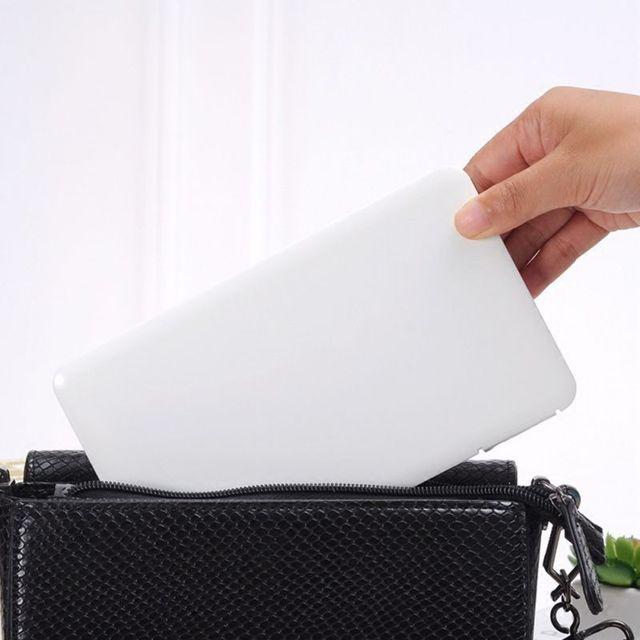 Portable Mask Storage Box Air Flu Anti-Bacterium PM2.5 Filter Mask Keeper Dust-Proof Moisture-Proof Rectangular Mask Box 4