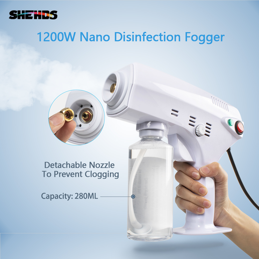 Steam-Gun Disinfection Stage-Fogger Smoke-Machine Water-Mist-Sprayer Dj Disco Nano Indoor