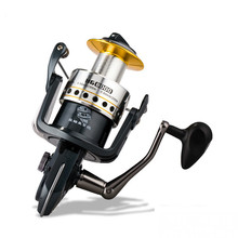 8000s Spinning Fishing Reel Distance 12 Ball BearingsThrowing Fishing Wheel Carretilha Pesca Molinete Olta Outdoor Fishing Gear