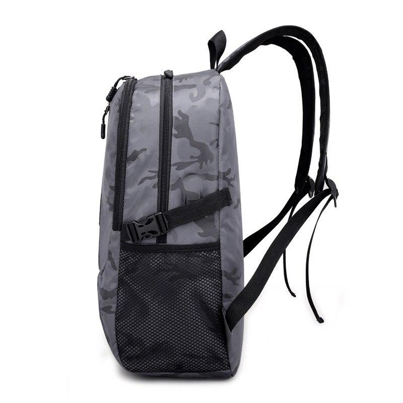 Sac à dos pour ordinateur portable externe USB Charge ordinateur sacs à dos sacs imperméables pour hommes d'affaires voyage sac à dos garçons sacs d'école - 3