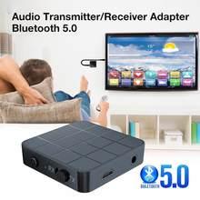 KN321 BT 5.0 Audio récepteur émetteur AUX RCA 3.5MM PC musique stéréo USB sans fil Jack adaptateurs haut-parleur TV 3.5 Dongle pour V6O6