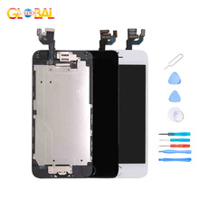 AAAA Original LCD Screen For iPhone 6 6s Screen LCD Display Digitizer Touch Module Screens Replacement LCDS 100% Tested lcd display touch screen digitizer assembly for hp 10949 hp slate 6 6 100% tested mobile phone lcds free tools