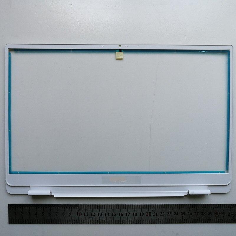 Novo portátil lcd moldura frontal da tela quadro para dell inspiron 13 5390 0f4v70 460.0gw0y. 0001