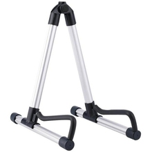 цена на Professional Electric Guitar Stand Universal Folding Electric Acoustic Bass Stand A-Frame Musical Rack Holder Guitar Accessories