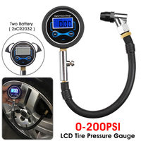 Digital LCD Tyre Tire Air Pumper Pressure Gauge Test Tool Car Accessories V Best|Tire Pressure Monitor Systems| |  -