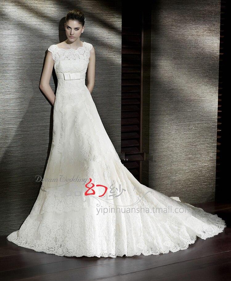 Bridal Gown Free Shipping Cheap 2016 New Fashionable Long Romantic Vestido De Noiva Bride Casamento Appliques Wedding Dress