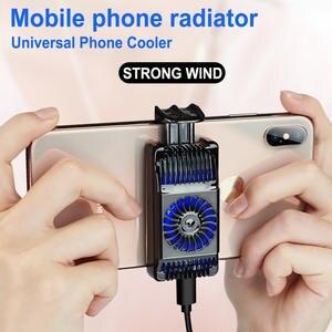 Fan-Holder Radiator Phone-Cooler Heat-Sink Mobile-Phone Gaming Adjustable Xiaomi Huawei