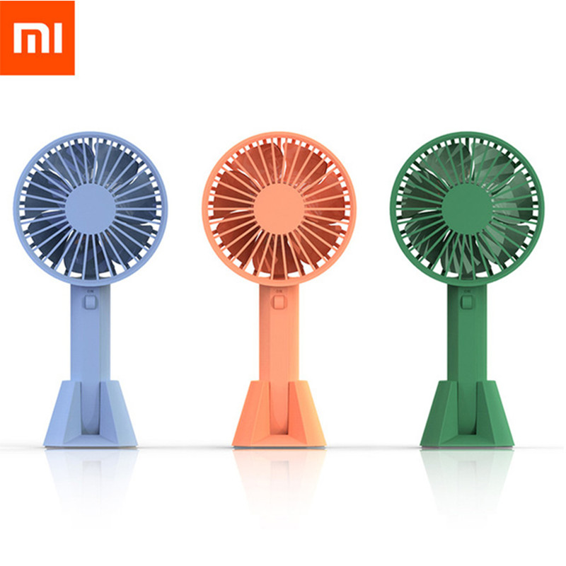 Xiaomi Youpin VH Fan Portable Handhold Fan With Rechargeable Built-In Battery USB Port Design Handy Mini Fan For Smart Home