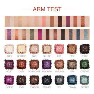 Image 2 - O.TWO.O Darling Eye Shadow Palette 21 Colors Matte Shimmer Pigmented Shadows Easy to Blend Rich Color Eyeshadow For Daily Use