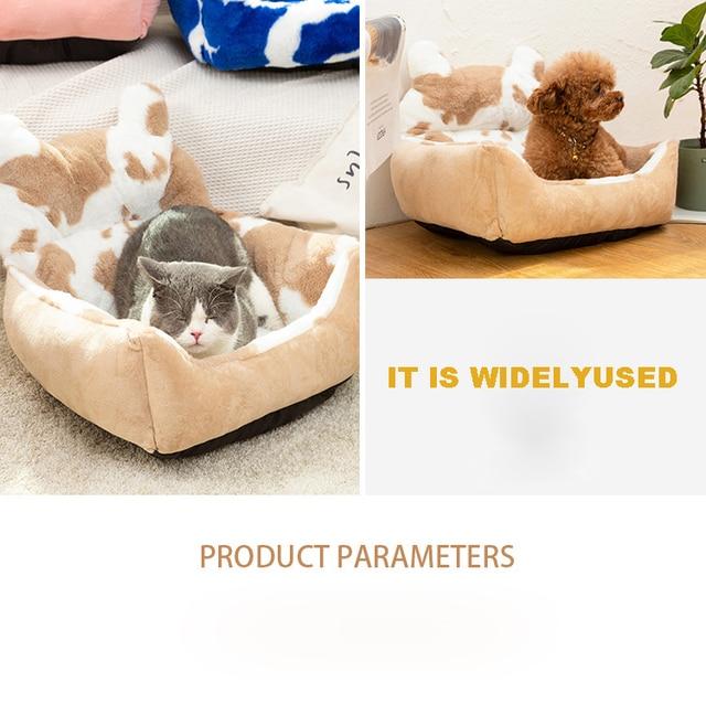 Washable Super Soft Velvet Pet Nest - Cushion Sleeping Bag  4