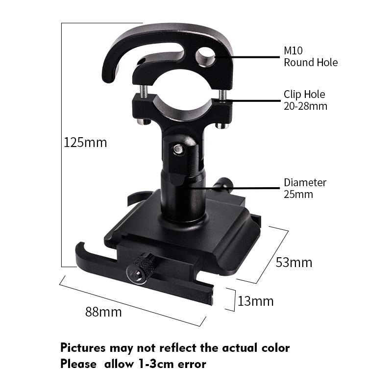 Motorcycle Mobile Phone Holder Suitable for Bicycles/Motorcycles/Electric Vehicles/Scooters 2