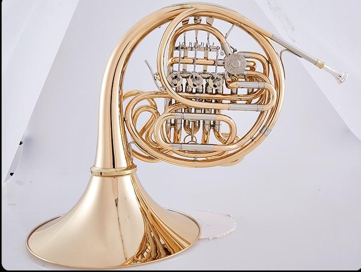 Drawstring Backpack Golden French Horn Rucksack