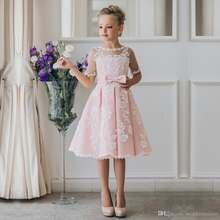 Красивое кружевное Пышное вечернее платье до колена с короткими
