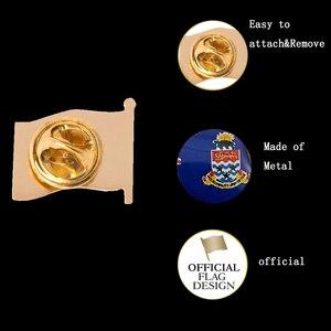 Image 5 - Großbritannien Cayman Inseln Mode Brosche Pin Metall Brosche Schmuck Kleidung Zubehör