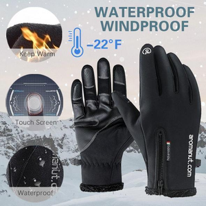 Winter Thermal Warm Cycling Bicycle Bike Ski Outdoor Camping Hiking Motorcycle Gloves Sports Full Finger