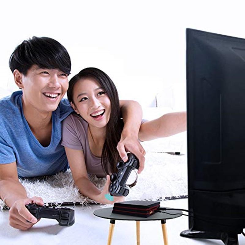 Lecteur de jeu vidéo rétro avec contrôleur sans fil 2.4G construit en 600 jeux classiques HDMI pour Console de jeu familiale GBA/SNES