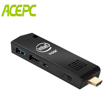 ACEPC T5 Mini PC Stick Intel Z8350 Windows 10 Pocket Computer Stick 4GB 64GB 4K HD Dual WiFi USB3.0 Bluetooth4.2 Media Player