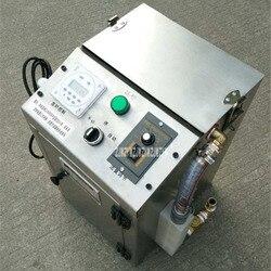 FYJ-1 przemysłowy pływający zbieracz oleju wysokowydajny Separator wody i oleju pływający pochłaniacz oleju maszyna z kołami 220V 50L/H