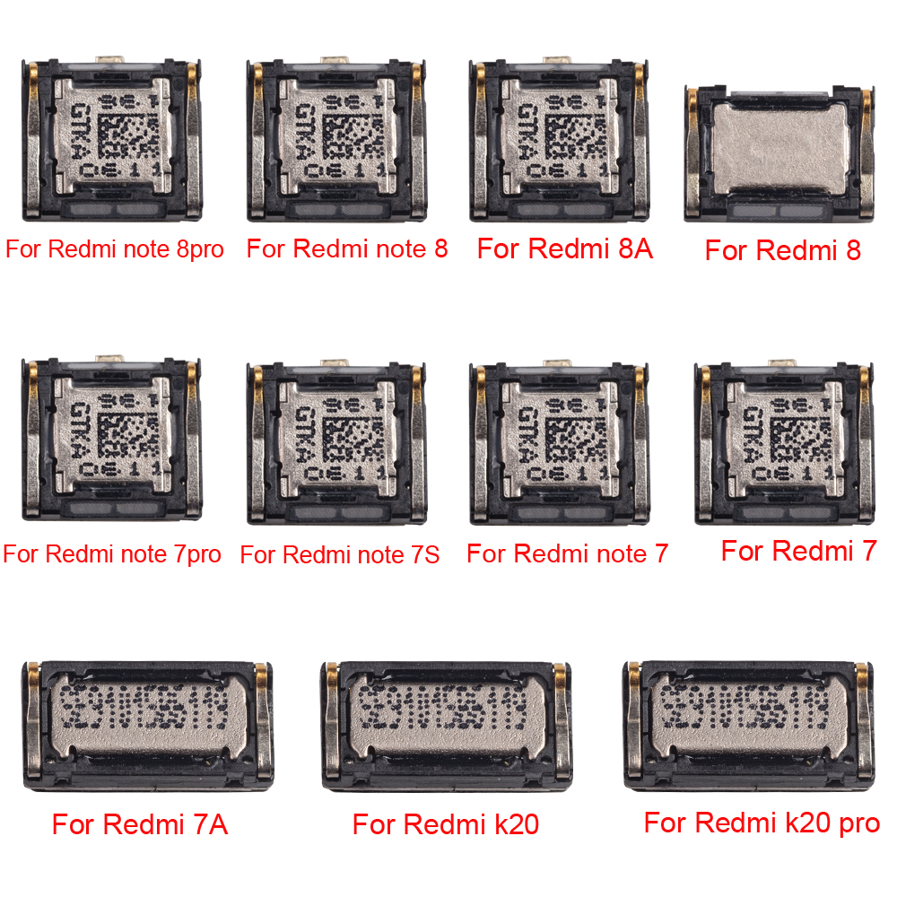 1 шт., новый бренд, топ, динамик, приемник для Xiaomi Redmi 7 8 7A 8A K20 pro note 7 8 pro 7s, динамик, запасные части|Шлейфы для мобильных телефонов|   | АлиЭкспресс